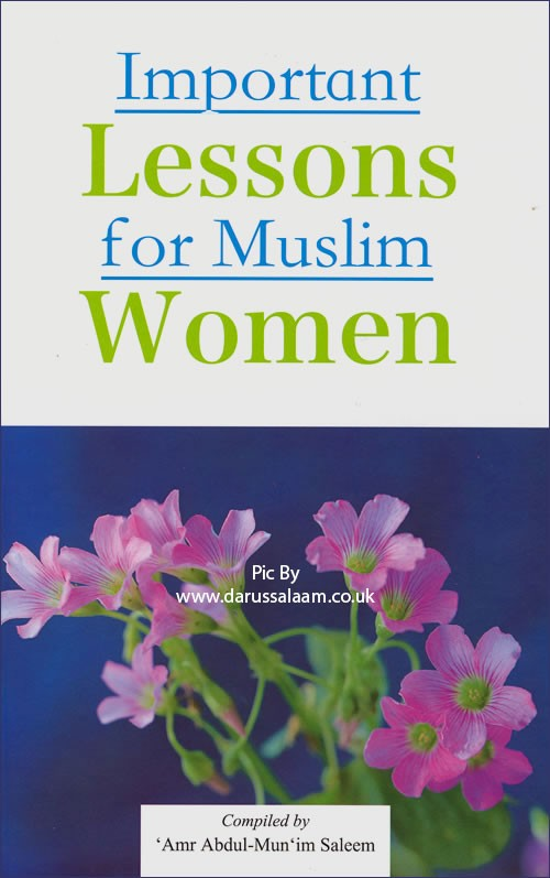 Darussalam Important Lessons For Muslim Women
