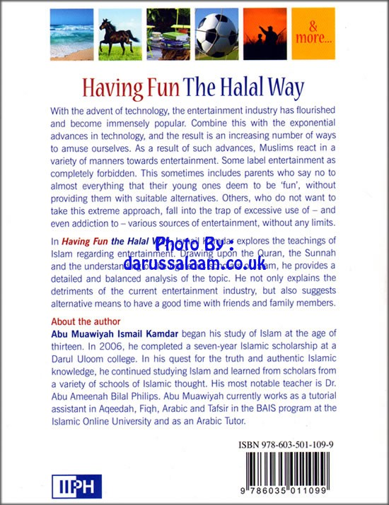 Having Fun The Halal Way, Entertainment In Islam